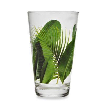 Poolside Palms Acrylic 23-Ounce Highball