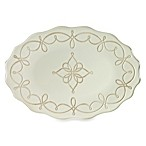 Embossed Rope 18-Inch Oval Platter