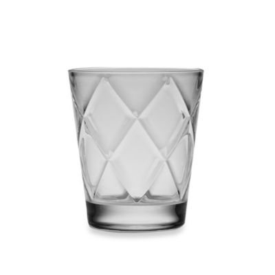 Acrylic Diamond 15-Ounce Double Old-Fashioned Glass