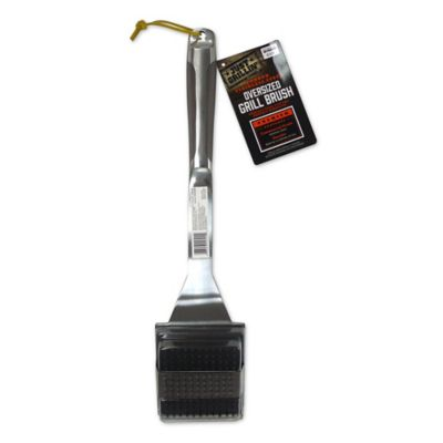 Just Grillin' Top Action Oversized Brush