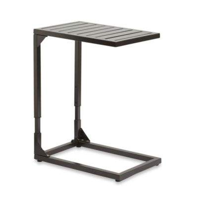 Adjustable Side Table in Bronze