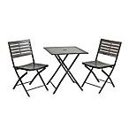 Marianna 3-Piece Folding Bistro Set