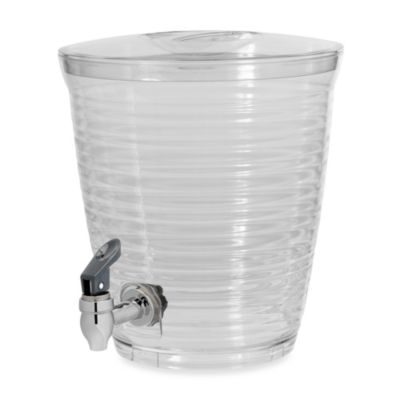 Bark 1.5-Gallon Clear Beverage Dispenser