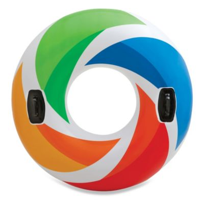 Color Whirl Floating Tube by Intex