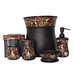 Aroma Collection Metal Mosaic Waste Basket