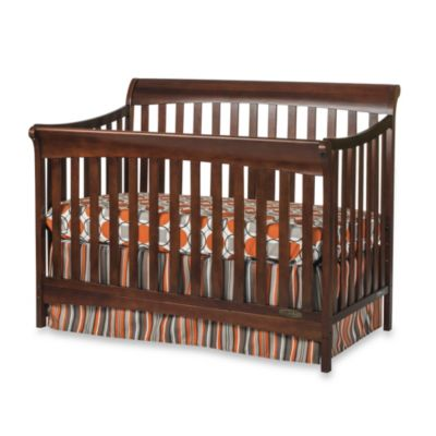 Child Craft™ Coventry 4-in-1 Convertible Sleigh Crib in Select Cherry