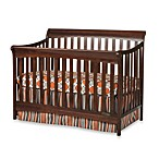Child Craft Coventry 4-in-1 Convertible Sleigh Crib in Cherry