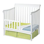 Child Craft™ Coventry Mini Crib Toddler Guard Rails in White