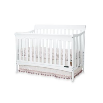 Child Craft™ Coventry 4-in-1 Convertible Sleigh Crib in Matte White