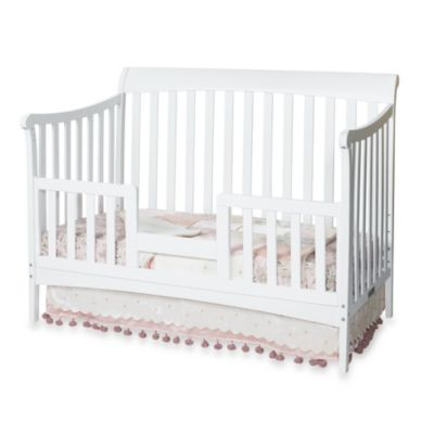 Child Craft™ Toddler Guard Rail for Convertible Cribs in White