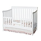 Child Craft Toddler Guard Rail for Convertible Cribs in White