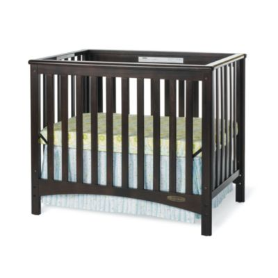 Small Space Living > Child Craft™ London Euro 2-in-1 Mini Crib in Jamocha