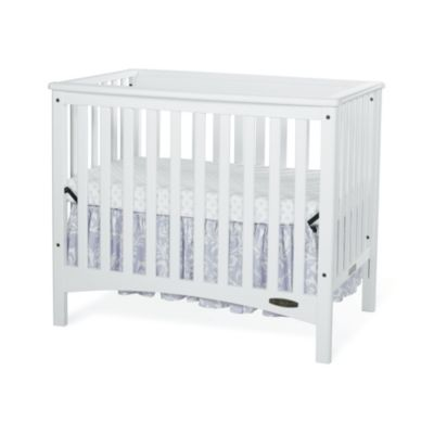 Child Craft™ London Euro 2-in-1 Mini Crib in White