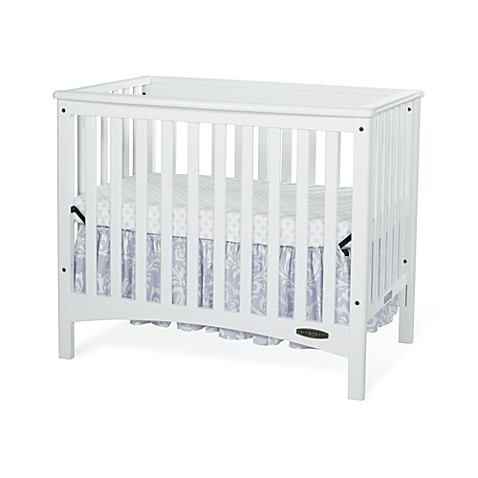 Child Craft London Euro 2 In 1 Mini Crib In White Www