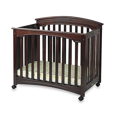 child craft wadsworth folding mini crib in cherry. Black Bedroom Furniture Sets. Home Design Ideas