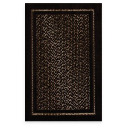 Mohawk Home Redmond Tufted 5-Foot x 8-Foot Rug in Black Amber