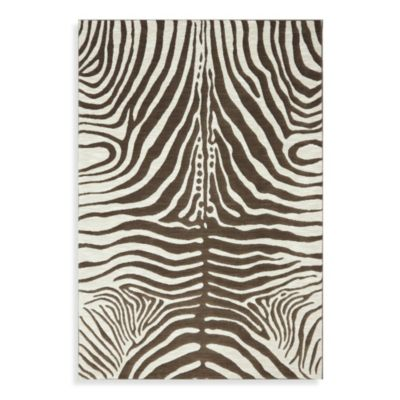 Mohawk Home Safari Dachshund Rug in Brown