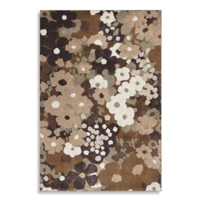 Mohawk Home Beverly Rug in Light and Dark Brown