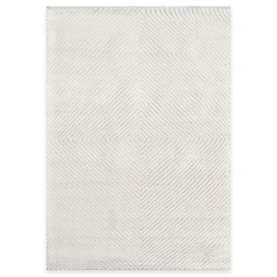 Hatteras Natural Wool 5-Foot x 7-Foot Woven Rug