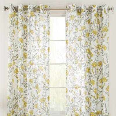 Aqua Sheer Curtains