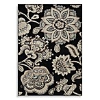 Westwood Over Scale Persian Accent Rug in Black
