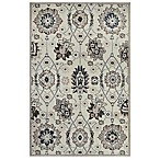 Westwood Traditional Floral Accent Rug in Ivory
