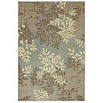 Mohawk Home 6-Foot x 9-Foot Botanical Rug in Dusty Aqua