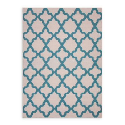 Jaipur Maroc Aster 8-Foot x 10-Foot Rug in Antique White/Capri