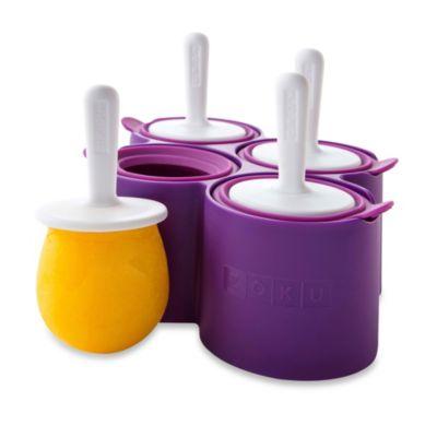 Zoku® Round Pops Mold