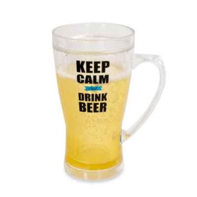 Frosty Keep Calm 14-Ounce Beer Mug