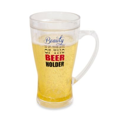 Frosty Beauty 14-Ounce Beer Mug