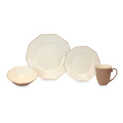 Baum Prisma 16-Piece Dinnerware Set in Cream