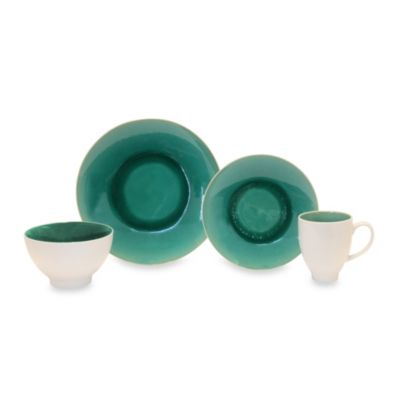 Baum Max 16-Piece Place Setting in Jade