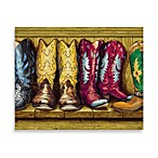 CounterArt® Cowboy Boots Cutting Board