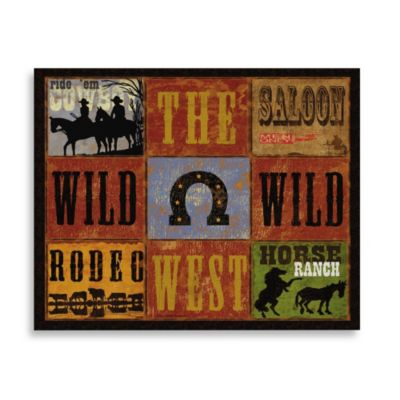 CounterArt® Wild, Wild West Cutting Board
