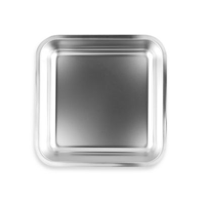 Fox Run® Stainless Steel 7-1/2-Inch Square Cake Pan