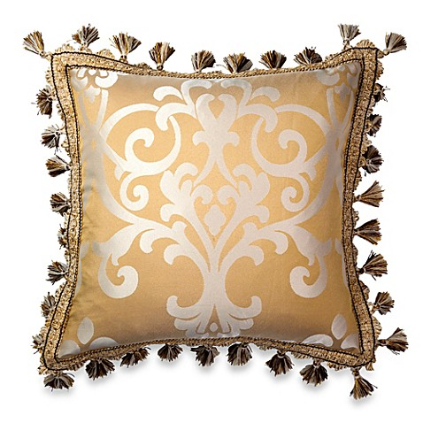 Michael Amini Novella Square Throw Pillow