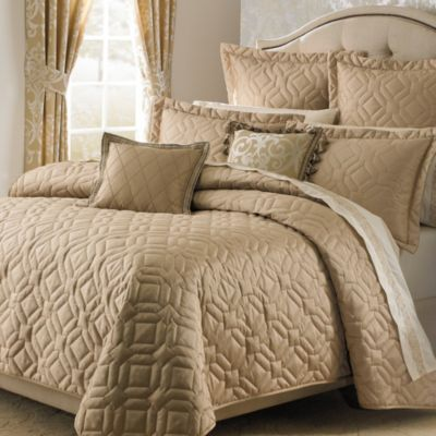 Michael Amini Novella Queen Coverlet