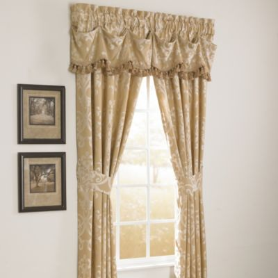 Michael Amini Novella Gathered Window Valance