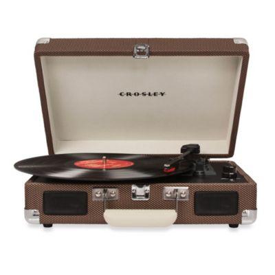 Crosley Radio Cruiser Portable Turntable in Brown