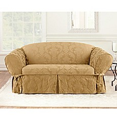Sure Fit® Matelasse Damask Slipcover Collection