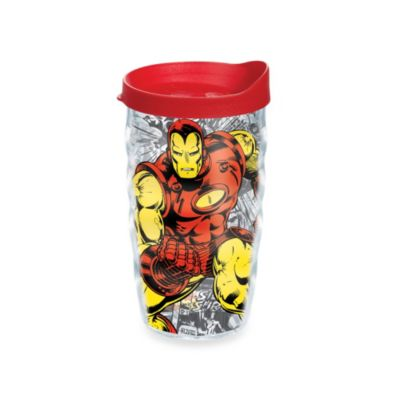 Ironman 10-Ounce Tumbler with Lid