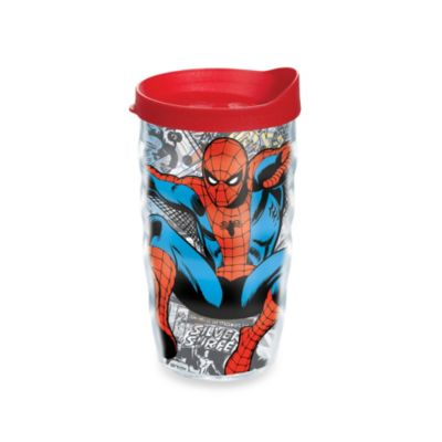 Tervis® Spider-Man 10–Ounce Wavy Tumbler with Lid