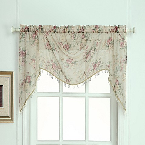 Laura Ashley® Stowe Window Curtain Swag Valence