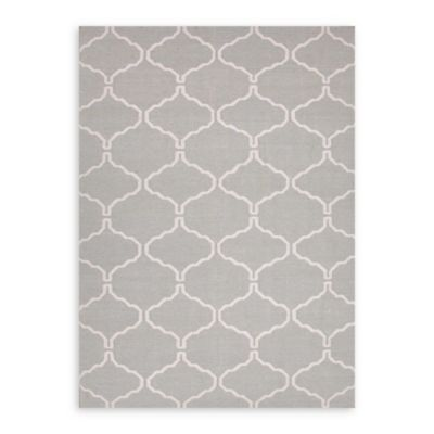 Jaipur Maroc Delphine 3-Foot 6-Inch x 5-Foot 6-Inch Rug in Pastel Blue