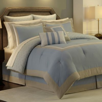 Hotel Comforter Super Set in Blue