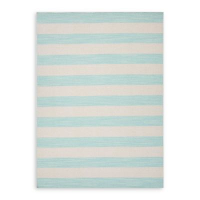 Jaipur Pura Vida Dias 5-Foot by 8-Foot Indoor Rug in Aqua Sky