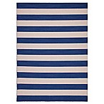 Jaipur Pura Vida Deep Navy Striped Indoor Rug