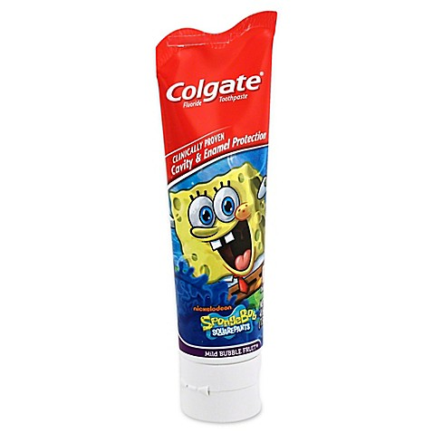 Colgate spongebob squarepants 4 6 oz anticavity fluoride toothpaste bed bath beyond - Keep toothpaste kitchen ...