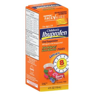 Harmon® Face Values™ Children's Ibuprofen 4 oz. Oral Suspension in Berry